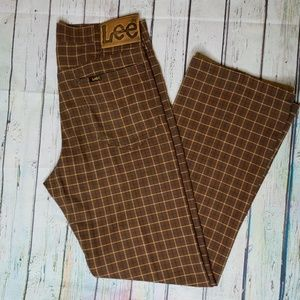 Vintage Plaid Lee Riders